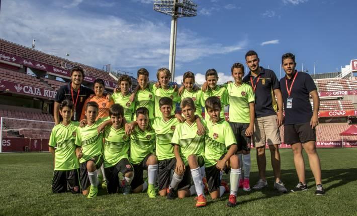 Yo también participé en la Copa COVAP: entrenadores de fútbol