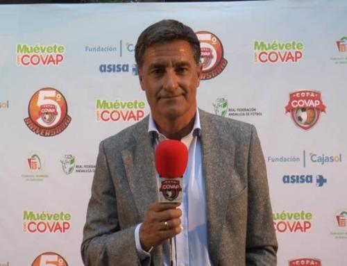 Entrevista a Míchel, padrino de la 5ª Copa COVAP