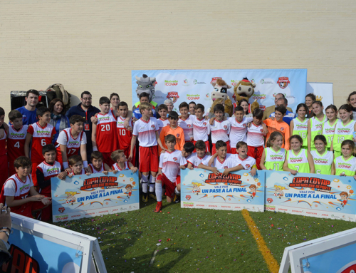 La Copa COVAP destaca en Espartinas el papel de los entrenadores en la motivación y alimentación del equipo