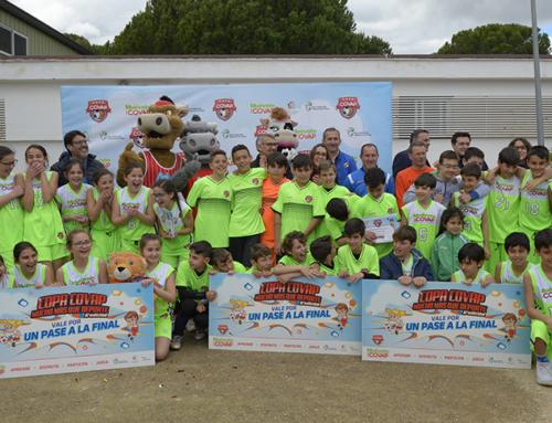 La Copa COVAP subraya en su sede onubense de Bonares los beneficios del ejercicio físico infantil para la salud cardiovascular