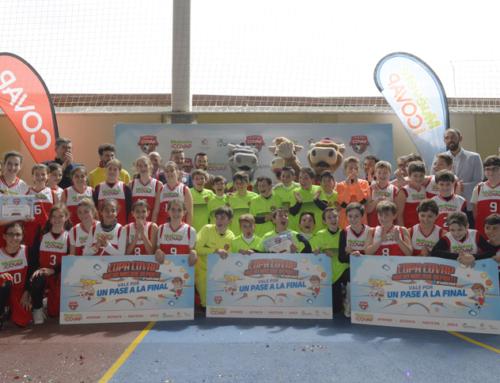 La sede jienense de la Copa COVAP en Linares resalta las ventajas de practicar deporte desde edades tempranas