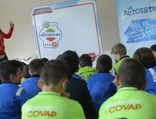 Psicólogos del deporte y la Copa COVAP insisten en la importancia de la actividad física como medida clave para prevenir el acoso escolar