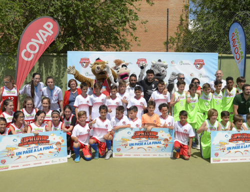 La Copa COVAP resalta en su sede granadina de Huétor Tájar la importancia del deporte para prevenir el bullying