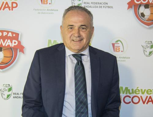 """Rafael Gordillo: """"La Copa COVAP es especial porque los valores que transmite tienen más importancia que el deporte en sí"""""""