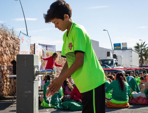 La Copa COVAP centra su sede almeriense en la higiene de manos para reducir casi un 50% las infecciones respiratorias y gastrointestinales