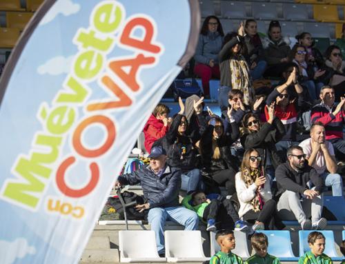 Una soleada Viator se vuelca con el regreso del deporte y la educación de la Copa COVAP a tierras almerienses