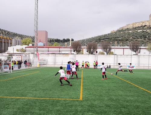 La Copa COVAP vuelve a Alcalá la Real con deporte infantil de gran nivel y múltiples consejos para evitar el acoso escolar