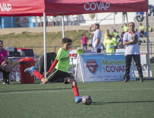 La pasión de los aficionados onubenses sube la temperatura de la Copa COVAP en el estreno de Moguer como sede provincial