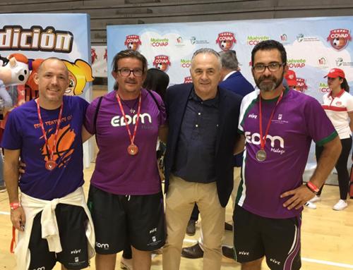 """David López: """"La Copa COVAP es una iniciativa muy buena que apuesta por el deporte y la vida saludable, donde los niños conviven y aprenden valores"""""""