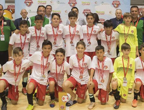 """Antonio Valiente: """"En la Copa COVAP hemos vivido una experiencia única que nos ha hecho ganar en educación"""""""