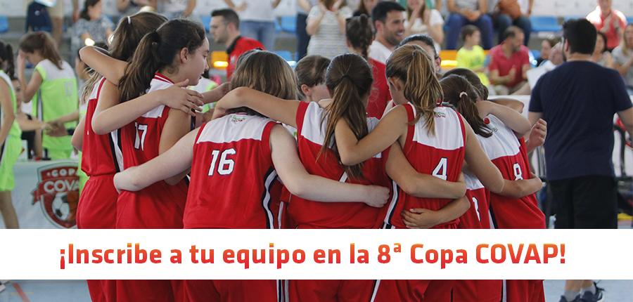 ¡Comienza la 8ª Copa COVAP! ¡Inscribe ya a tu equipo!