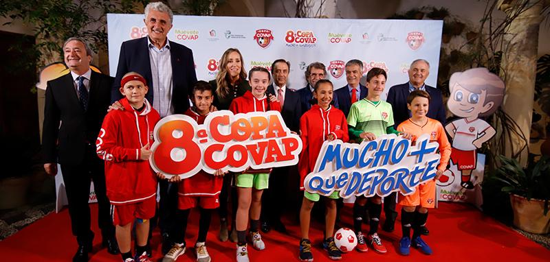 Especialistas se unen en la 8ª Copa COVAP bajo el lema 'Mucho más que deporte' para fomentar hábitos saludables