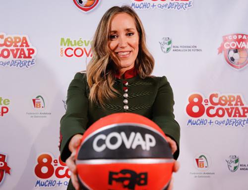 Marta Fernández: «La Copa COVAP consigue que los niños tengan hábitos de vida saludables y se respeten entre ellos»