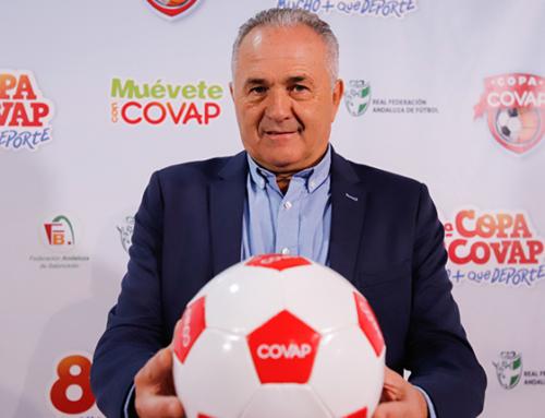 Rafael Gordillo: «La Copa COVAP es un complemento ideal a la educación que reciben los niños de sus colegios y sus padres»