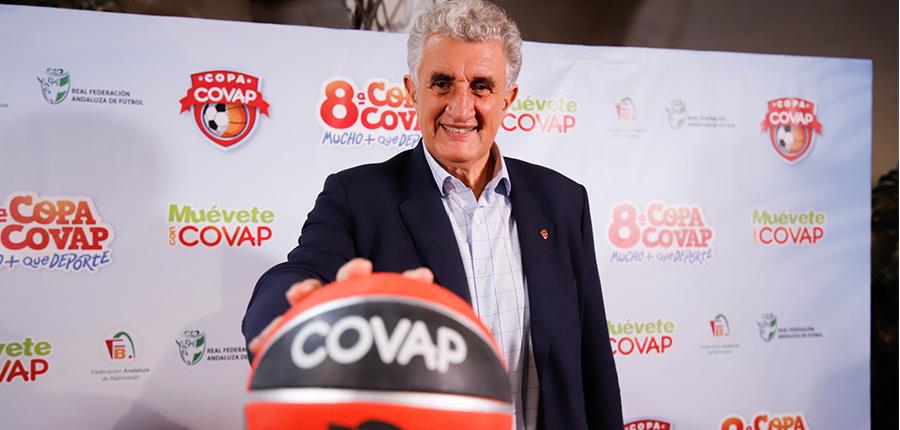 Fernando Romay: «La Copa COVAP ya tiene un lugar predominante en los niños y sus valores se demuestran en las actuaciones de muchos equipos»