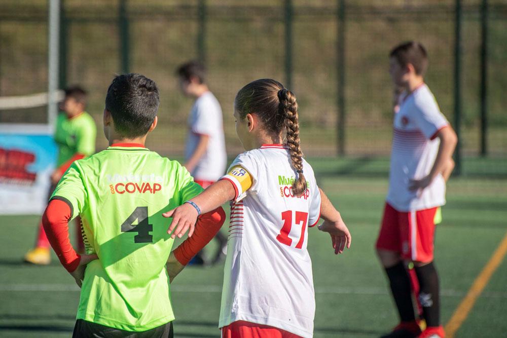 Partido de fútbol de la Copa COVAP