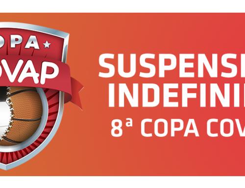 La octava edición de la Copa COVAP queda suspendida indefinidamente