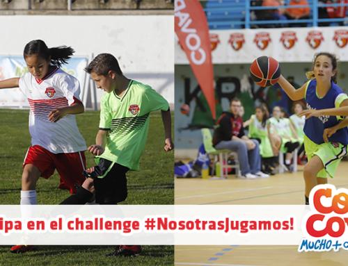 ¡Participa en el challenge #NosotrasJugamos!